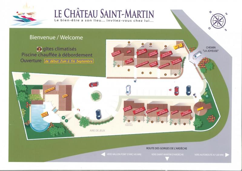 Chateau st martin location
